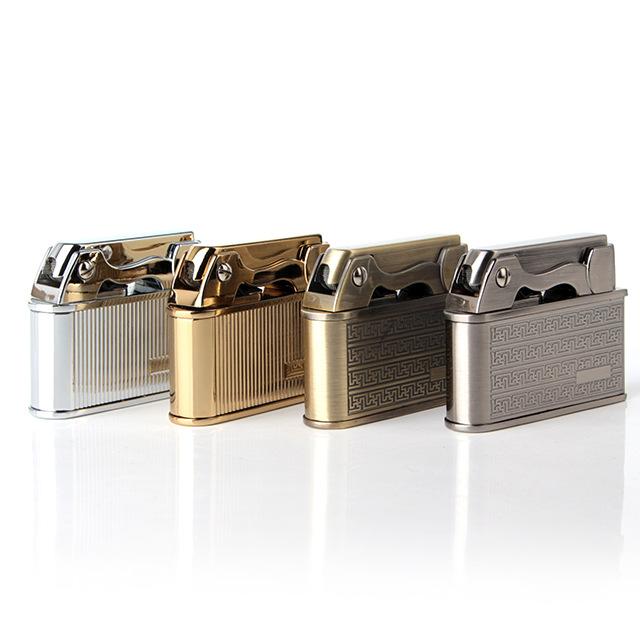 classical gold kerosene lighter