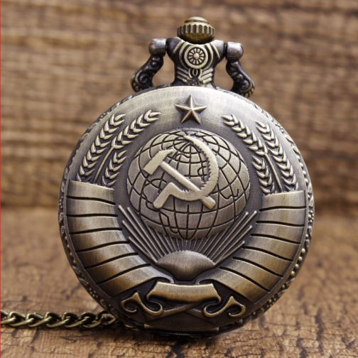 Ussr Steampunk Pocket Watch
