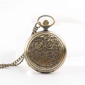 Bronze Doctor Quartz Pocket Watch