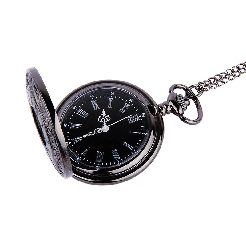 Fob Pocket Watch with Roman Numerals
