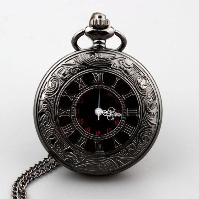Steampunk Pocket Watch Roman Numerals