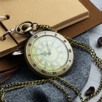 Vintage Pocket Watch Roman Numerals