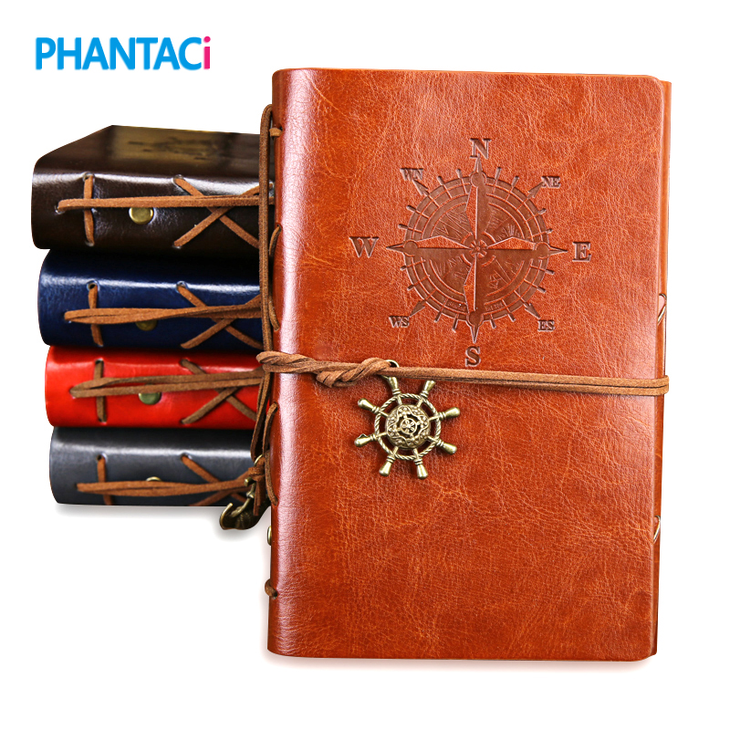Steampunk Leather Cover Notebook