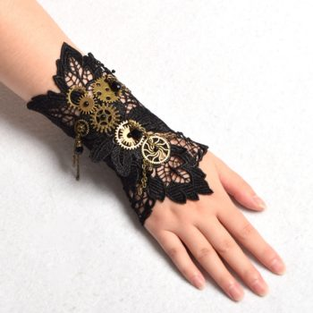 Steampunk Arm bands Victorian Tie-Ups