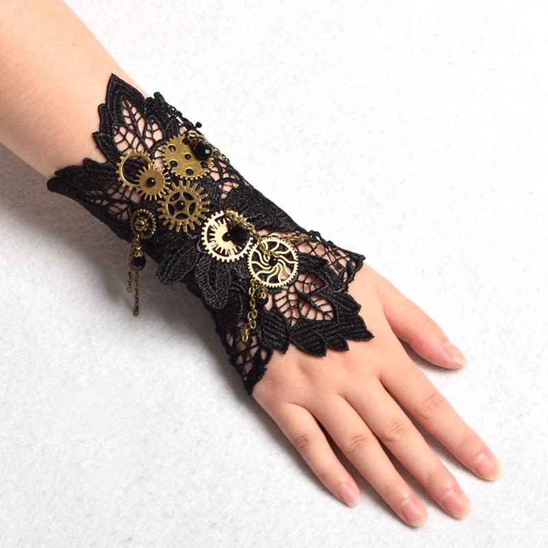 Steampunk Arm bands Victorian Tie-Ups