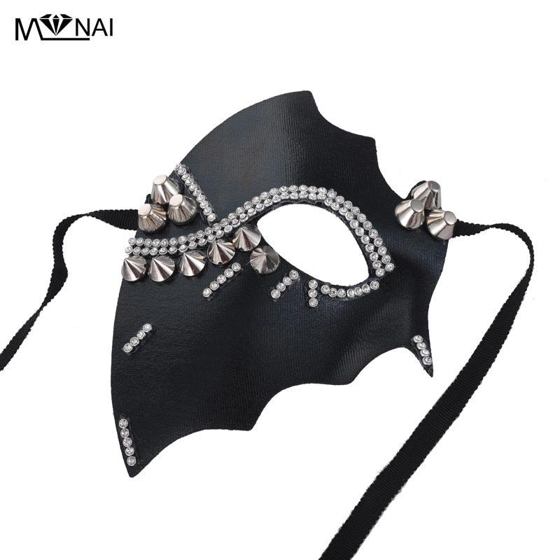 Steampunk Crystal Eye Mask