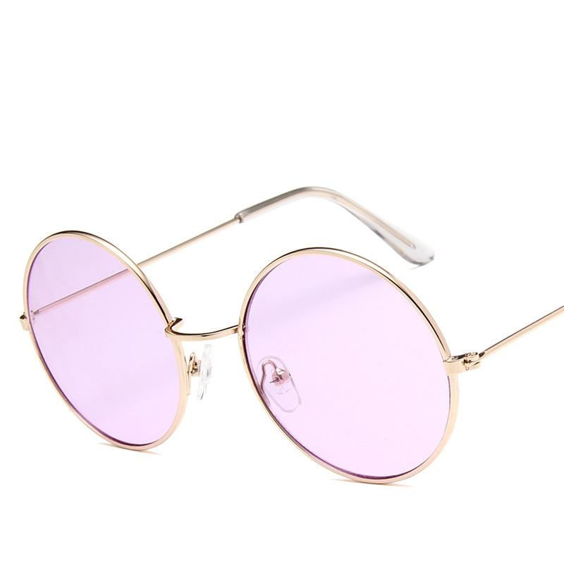 Round Sunglasses Steampunk Shades