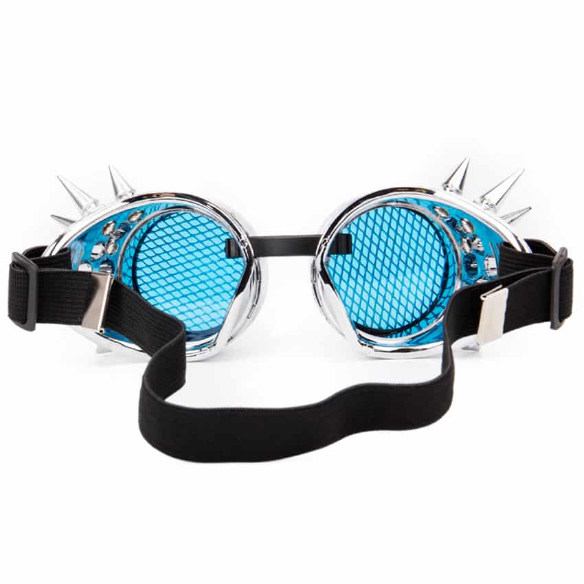Crystal Lenses Steampunk Googles
