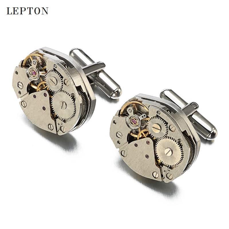 Stainless Steel Wristwatch Steampunk