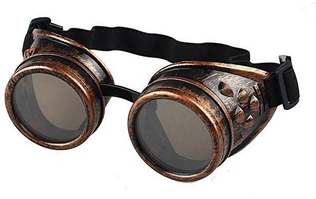 Vintage Style Welding Steampunk Gothic Glasses