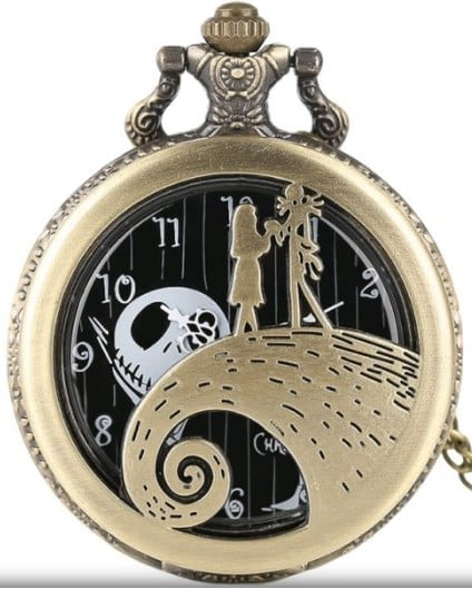 Smooth Steampunk Quartz Pocket Watch
