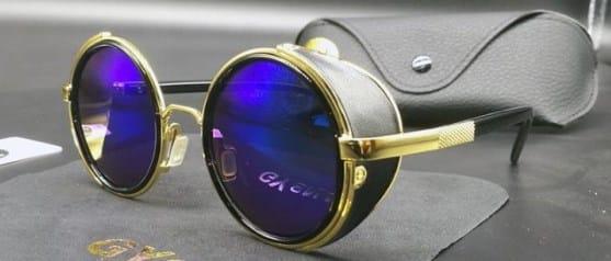 Steampunk Round Sunglasses