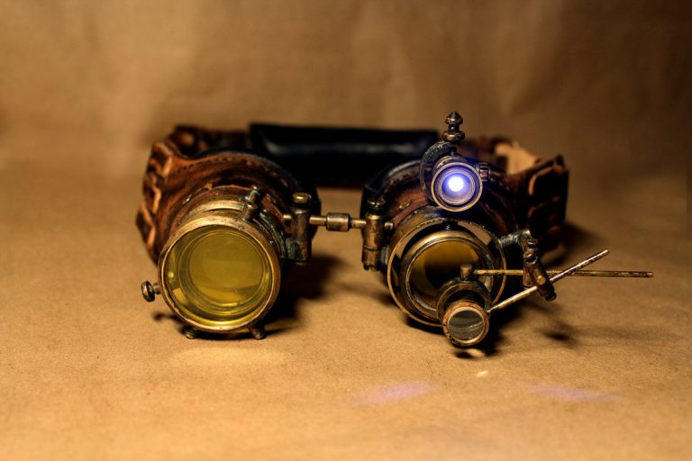 Steampunk Sun Glasses for Halloween