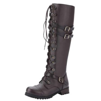 Lace Up Winter Boots Steampunk