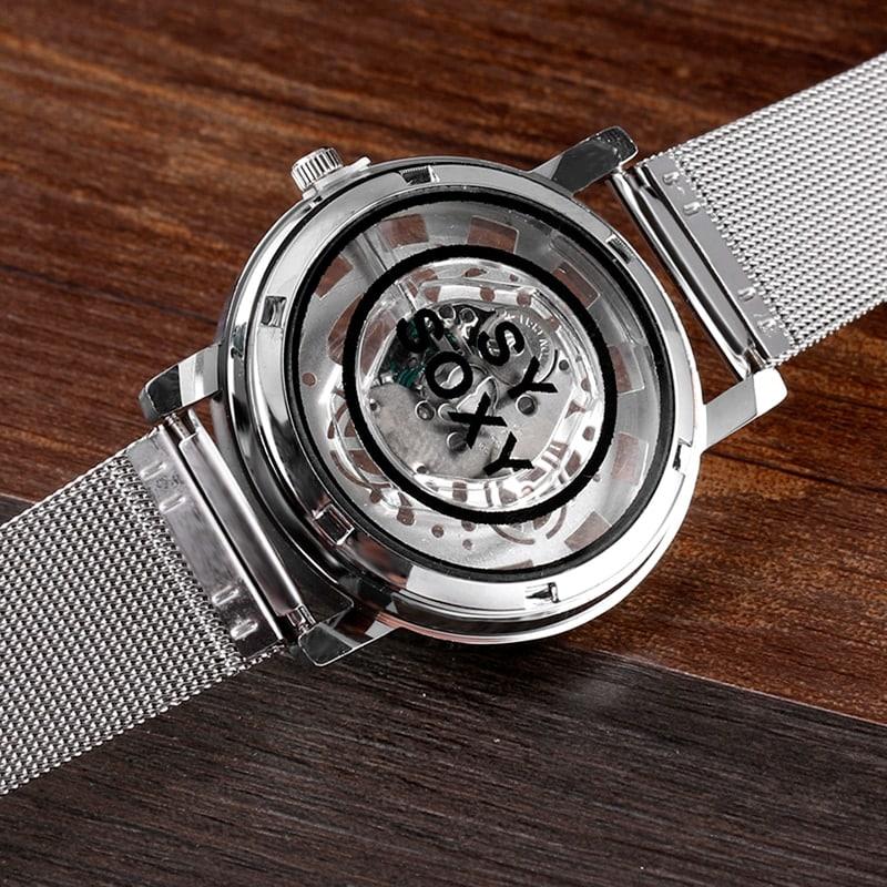 Luxury Hollow Steel Watch Quartz