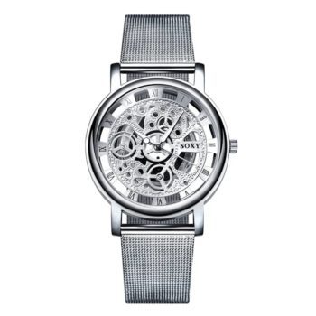 Luxury Hollow Steel Watch Quartz