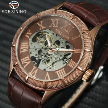 Automatic Steampunk Wrist Watches Roman Numerals