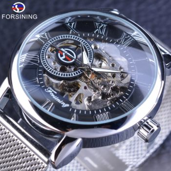 Forsining Mechanical Stainless Steel Watch