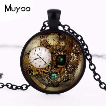 black color pocket watch