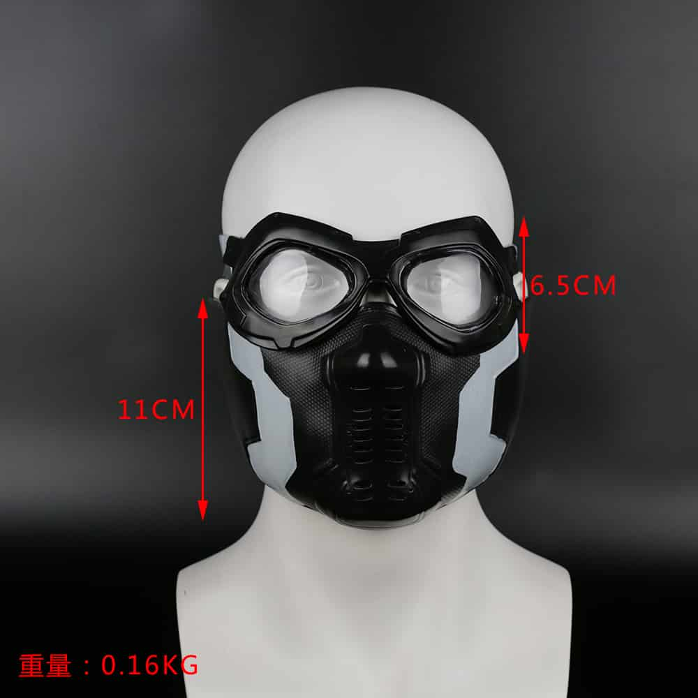 Cosplay Face Mask with Googles