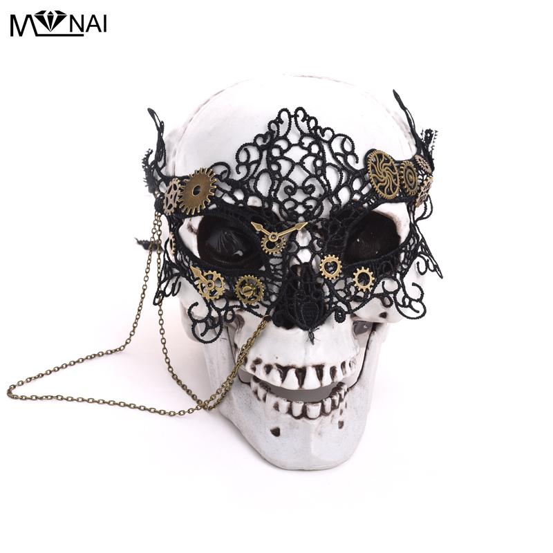 Vintage-Steampunk-Gear-Clock-Wheel-Mask-Handmade-Gothic-Victorian-Lace-Mask-Lolita-Retro-Accessories-Cosplay