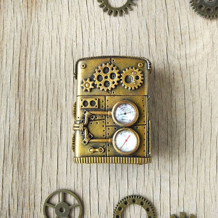 handmade steampunk lighter