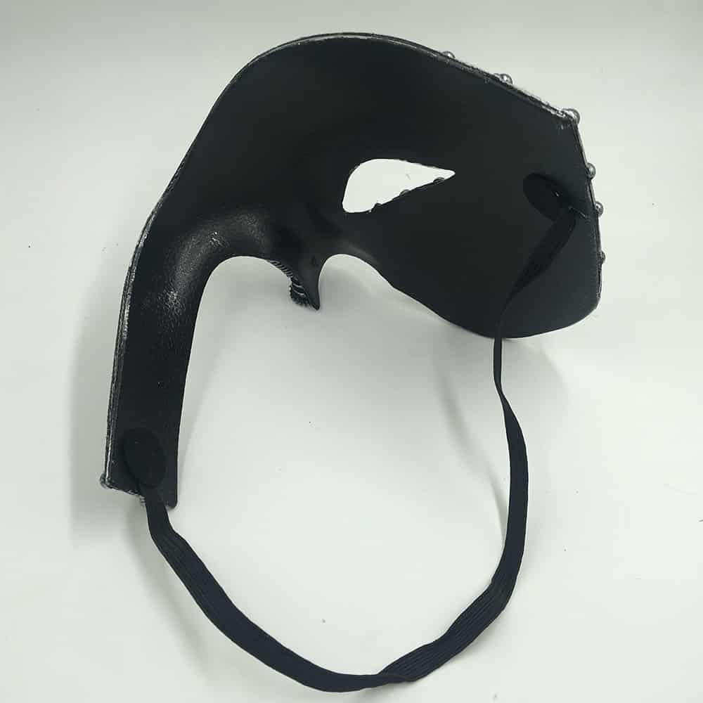 Steampunk Phantom Masquerade Cosplay Mask black