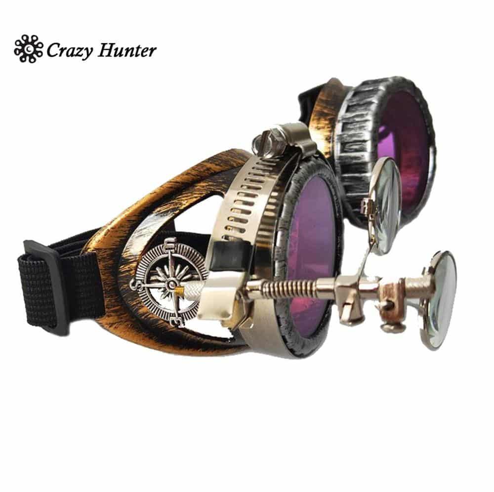 purple goggles