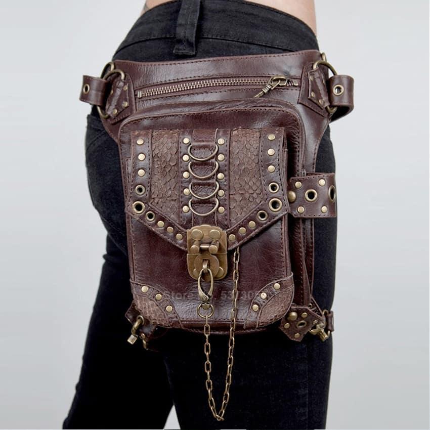 Victorian Leather Messenger Bag