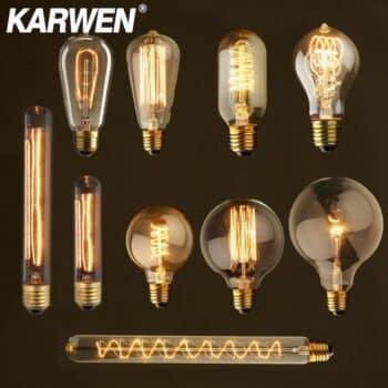 Steampunk Edison Bulb