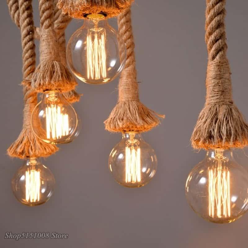Rope Hanging Light
