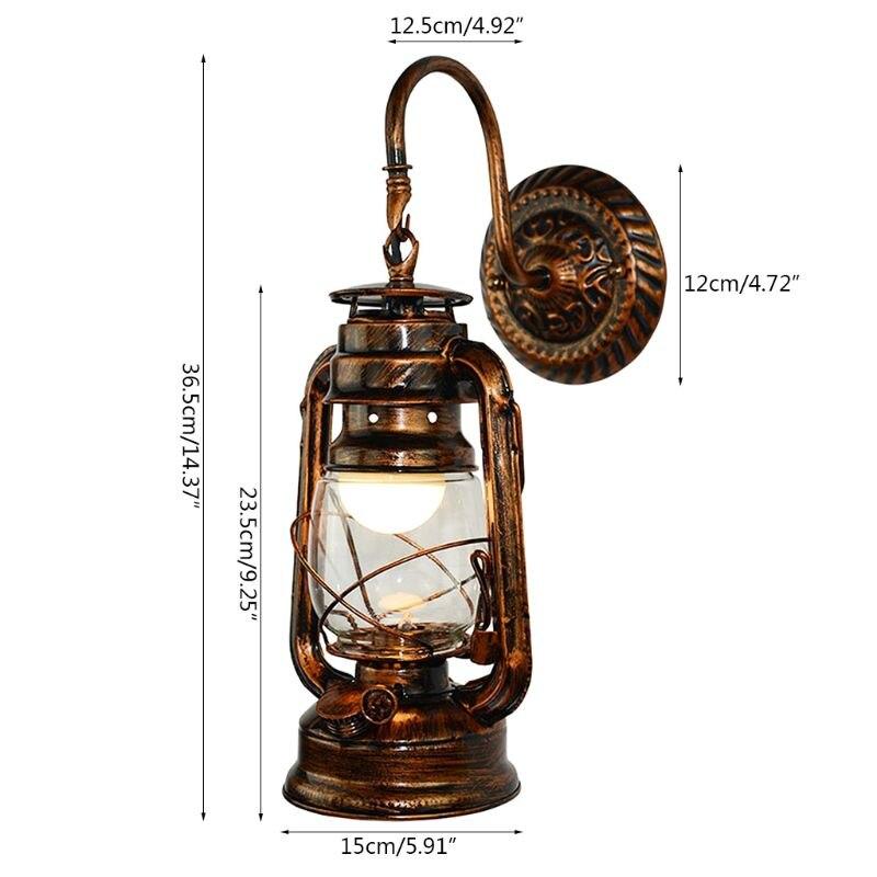 steampunk Lantern Size guide