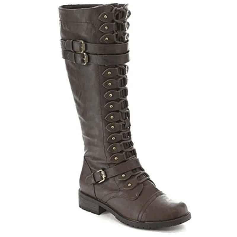 steampunk Knee High boots for Women