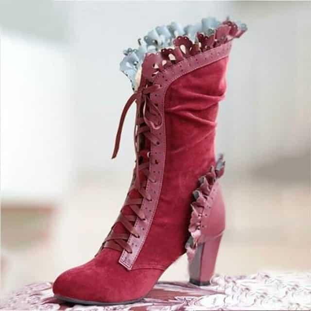 steampunk Victorian Boots women