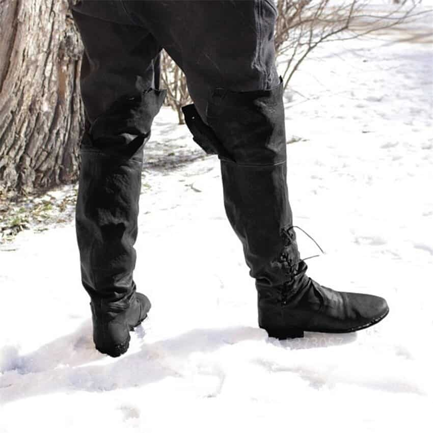 steampunk Middle age Pirate boots