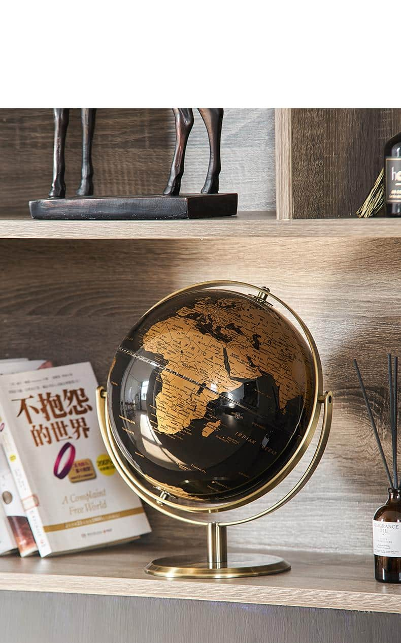 Steampunk Retro World Globe